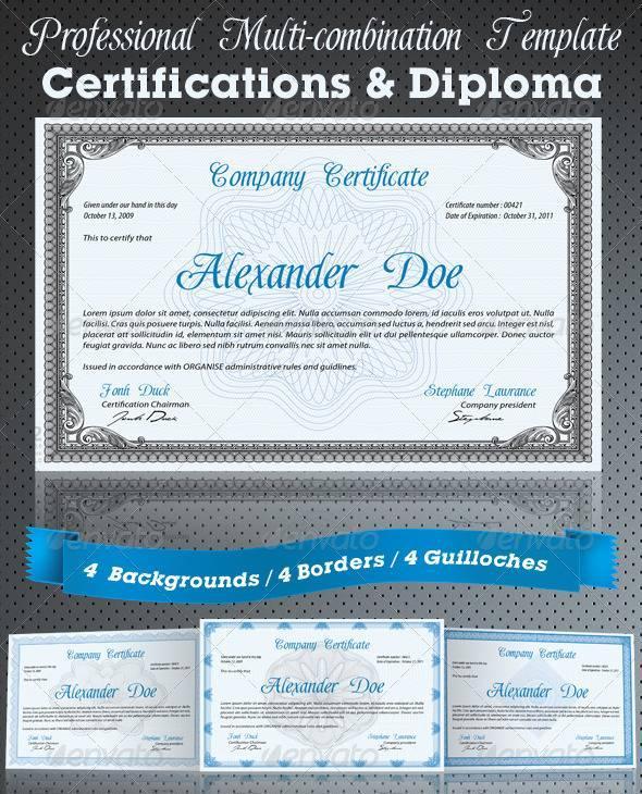 Free Template Certificate