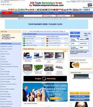 B2B Trading Marketplace