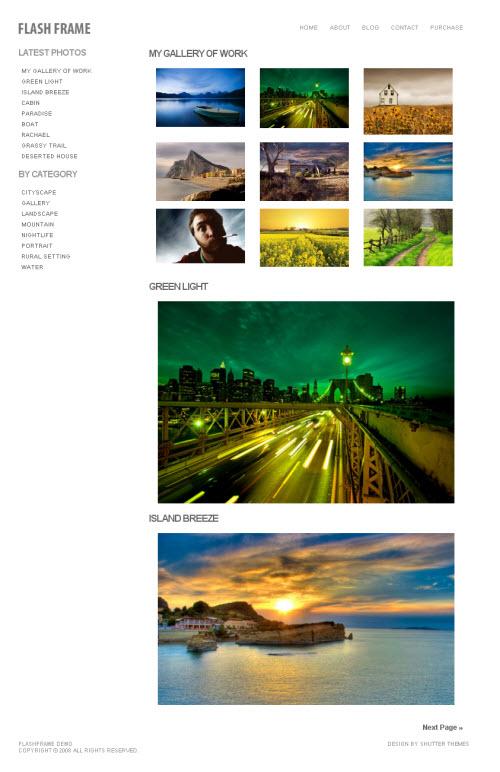 Flash Frame – iThemes Premium WordPress Theme