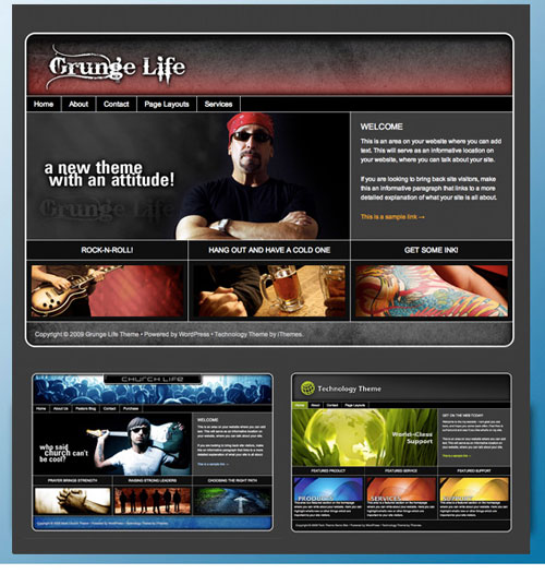 Life Series – iThemes Premium WordPress Theme