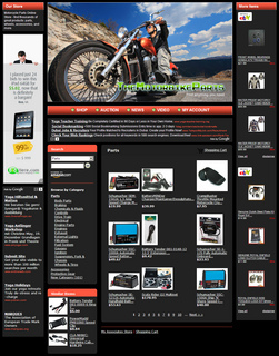 Motor Bike Parts Store – Adsense, Amazon and eBay Business