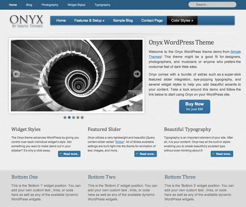 Onyx v1.9 – SimpleThemes Premium WordPress Theme