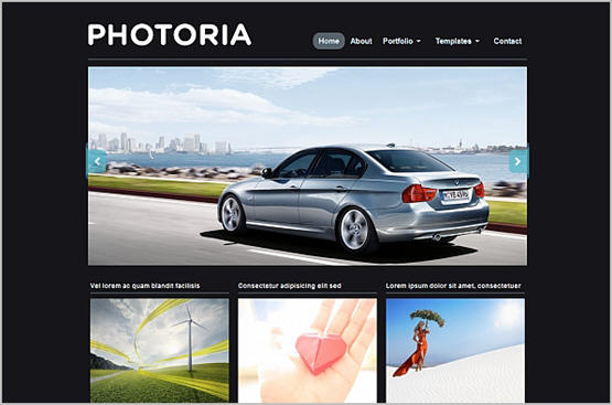 Photoria – WPzoom Free Wodpress Theme