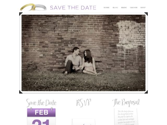 Save the Date v1.0.4 – iThemes Wedding Premium WordPress Theme