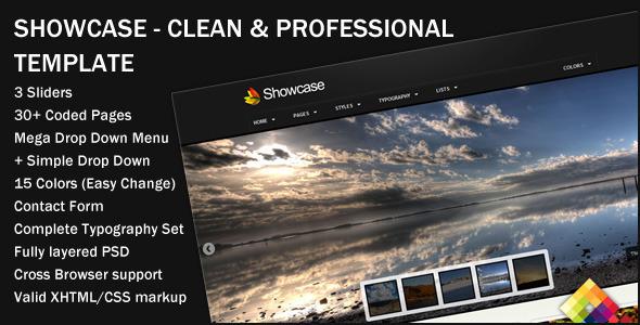 ThemeForest Showcase v1.1 – Professional Portfolio Template