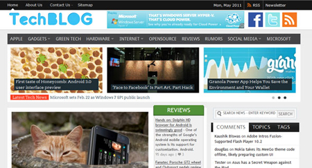 TechBlog – Magazine 3 Premium WordPress Theme