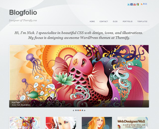 Themify Blogfolio WordPress theme