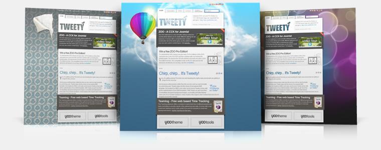 Tweety v5.5.10 Update – YooTheme Template