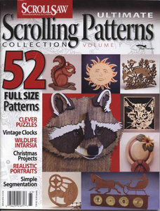 Ultimate Scrolling Patterns Collection Volume 1
