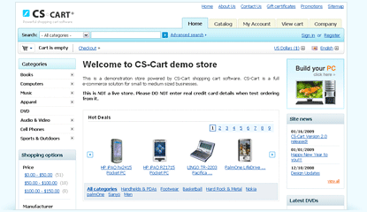 CS-CART v2.2.2 multi-vendor nulled by flipmode! – 24TH AUGUST 2011