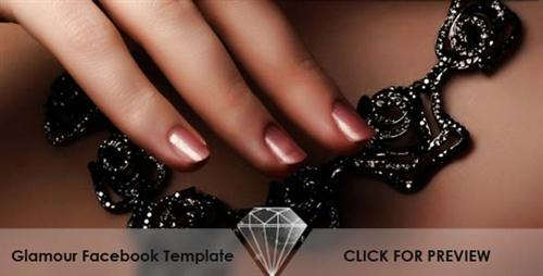 Glamour – Facebook Fan Page Template by ActiveDen