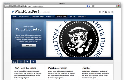 Premium Theme WhiteHousePro v3.1.3 by PageLines