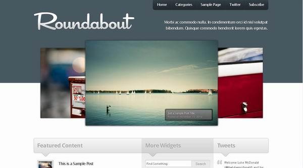 Roundabout – Prees75 Premium WordPress Theme