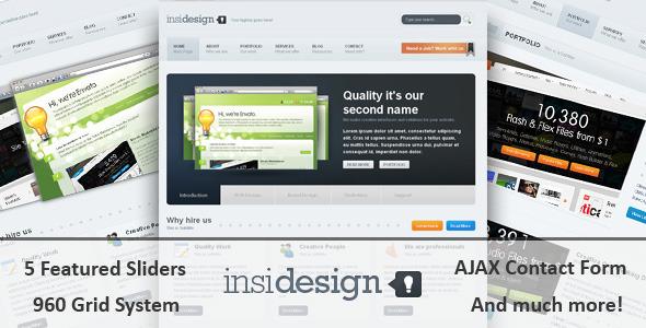 ThemeForest – Insidesign HTML Template