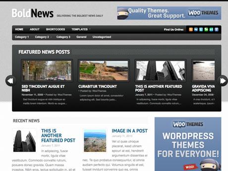 WooThemes BoldNews v1.1.1 – Premium WordPress Theme