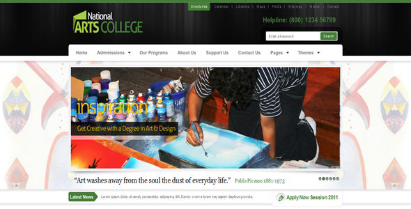 Arts College (All Colours) by ThemeForest