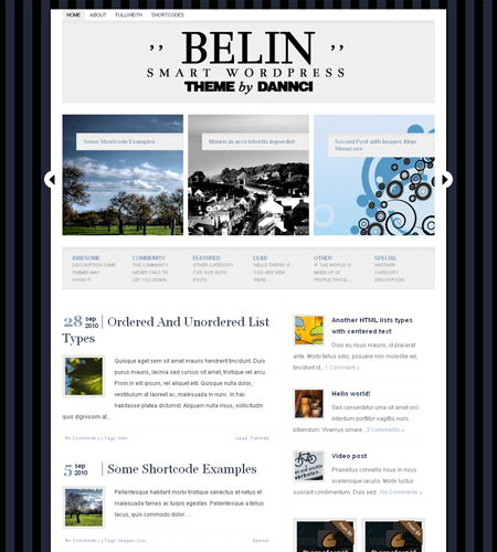 Belin – Beatheme WordPress Theme