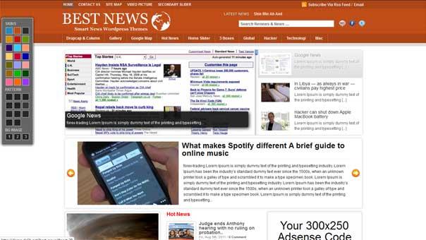 BEST NEWS FREE WordPress Themes