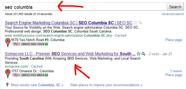 Google Places Domination