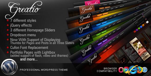 Greatio v3.1 Premium WordPress Theme by ThemeForest