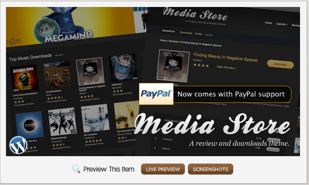 Media Store – Review & Downloads WordPress Theme by ThemeForest