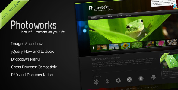 Photoworks – Photography and Portfolio Template by ThemeForest