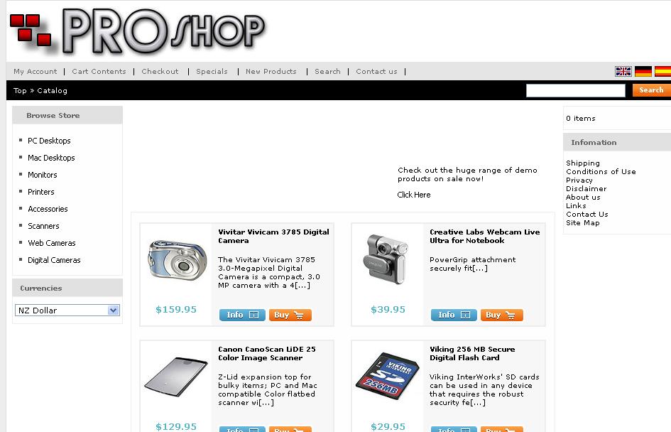 PRO/SHOP – E-Commerce