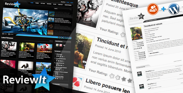 ReviewIt – Review & Community WordPress Theme by ThemeForest