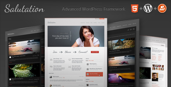 Salutation: WordPress + BuddyPress Theme by ThemeForest