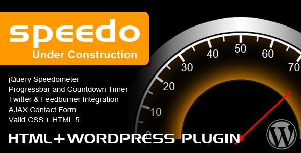 Speedo Under Construction by ThemeForest