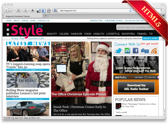 StyleLife WordPress Premium Theme by Magazine3