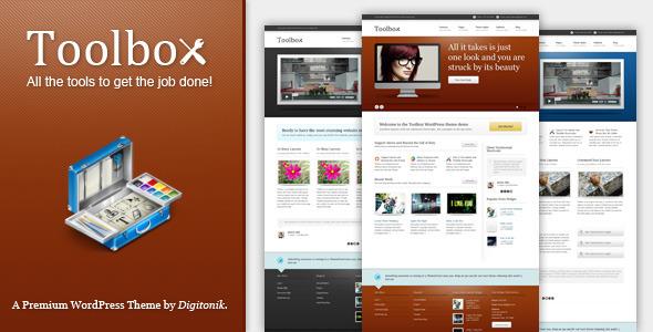 Toolbox Premium Corporate & Portfolio Theme by Themeforest