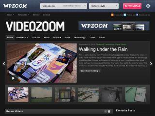 Videozoom Premium WordPress Theme by WpZoom