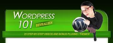 WordPress 101 – 23 Videos with PLR