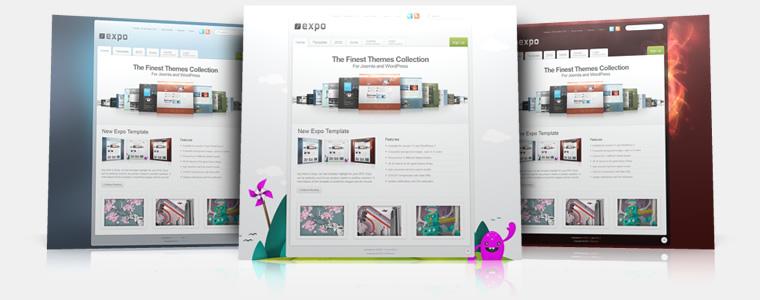 YooTheme Expo v5.5.8 Joomla 1.5 & Joomla 1.6 – Premium Joomla Templat