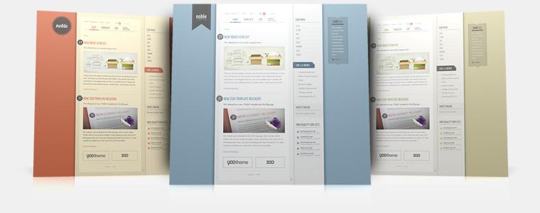 YooTheme Noble v5.5.12 Joomla 1.5 & 1.6 – Premium Joomla Template