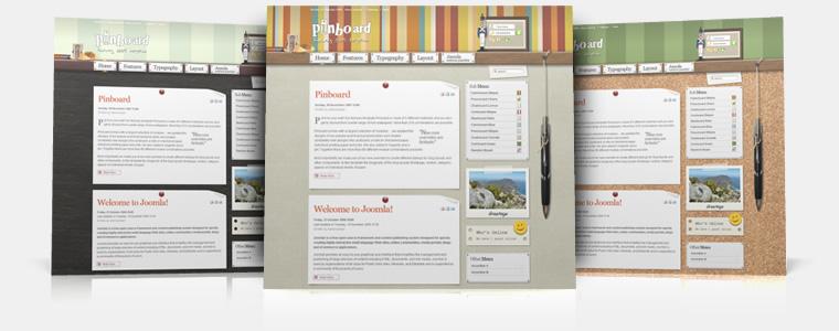 YooTheme Pinboard v5.5.11 Joomla 1.5 – Premium Joomla Template