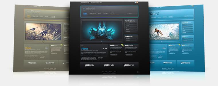 YooTheme Planet v5.5.15 Joomla 1.5 & 1.6 – Premium Joomla Template