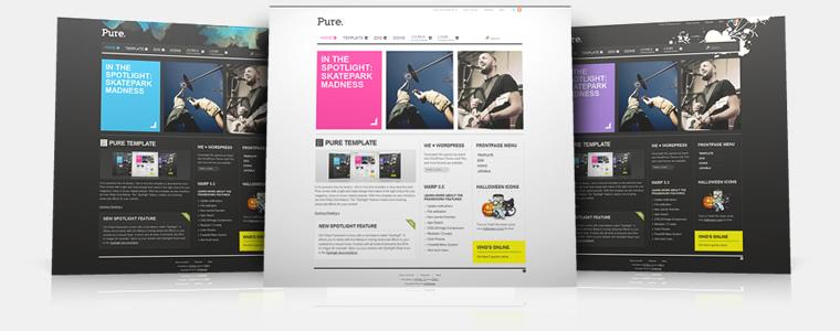 YooTheme Pure v5.5.8 Joomla 1.5 & 1.6 – Premium Joomla Template