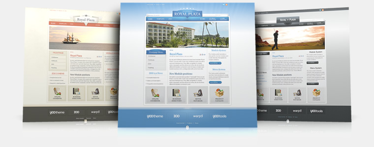 YooTheme Royal Plaza v5.5.16 Joomla 1.5 & 1.6 – Premium Joomla Template