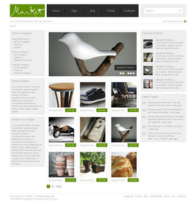 Acquisto WordPress theme by press75