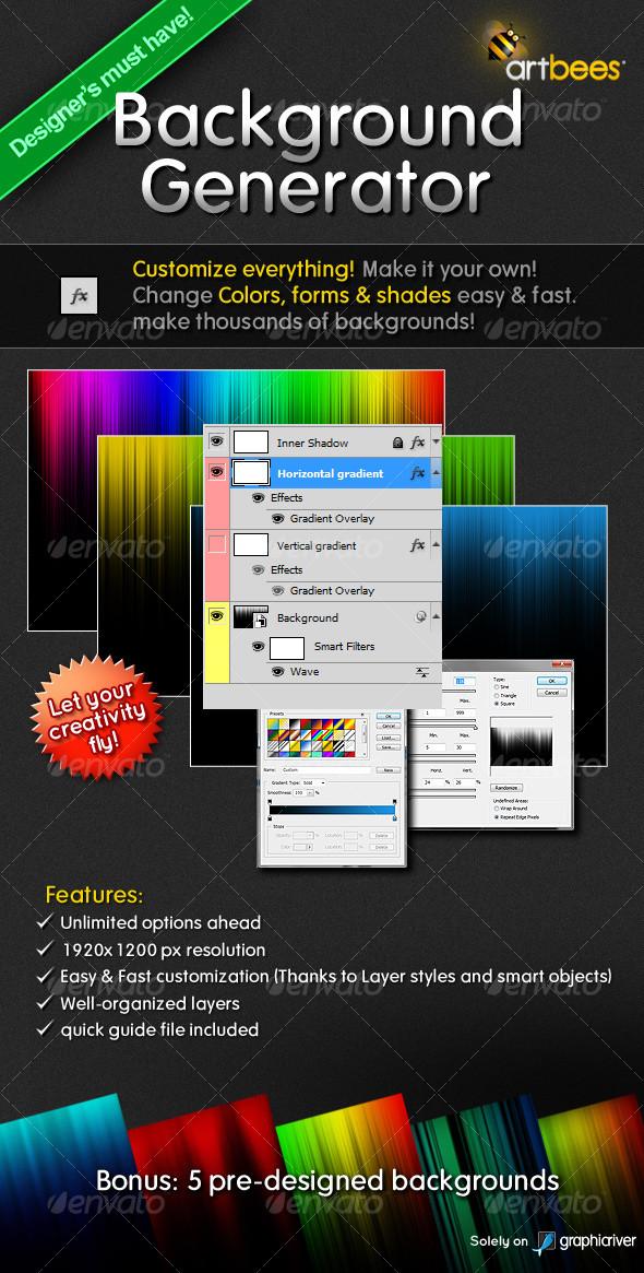 Background Creator & templates GraphicRiver