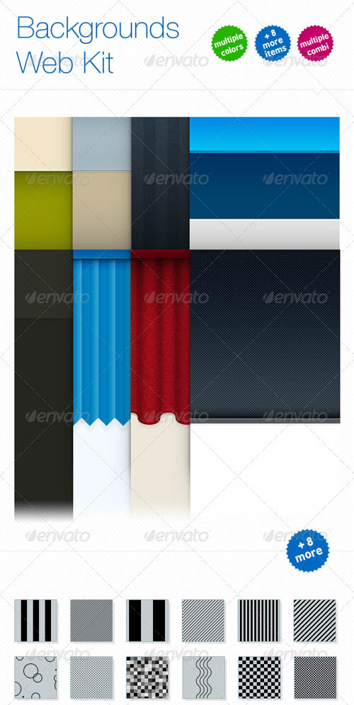 Backgrounds Web Kit GraphicRiver