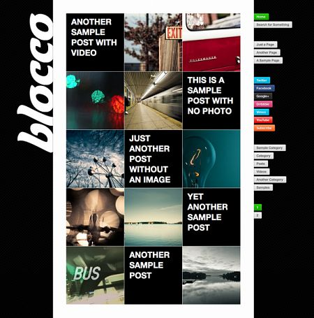 Blocco Theme for WordPress Theme by Press75