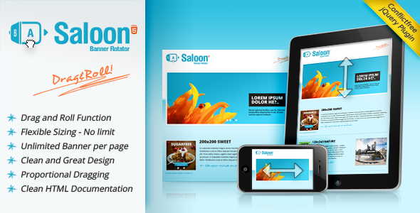 Codecanyon – Saloon The jQuery Banner Rotator Plugin