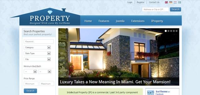 IT Property – Joomla! 2.5 Joomla templates 2012