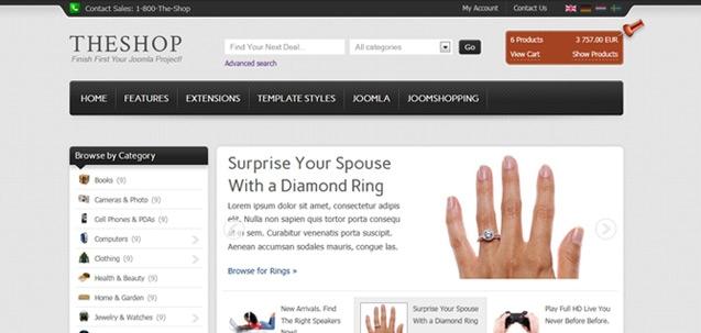 IT TheShop – Joomla! 2.5 Joomla templates 2012