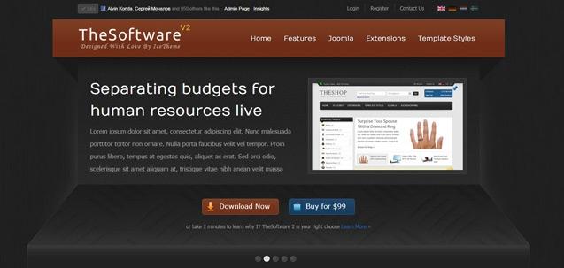 IT TheSoftware 2 – Joomla! 2.5 Joomla templates 2012