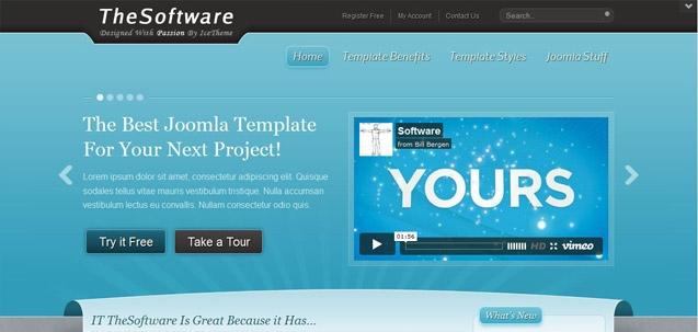 IT TheSoftware – Joomla! 2.5 Joomla templates 2012