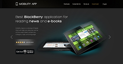 MobilityApp – iPad, iPhone and Android WordPress Theme v1.0.2